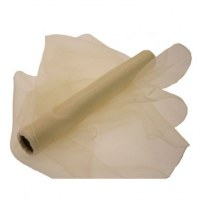 Organza Fabric - Cream