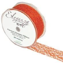 Web Ribbon 38mm Orange