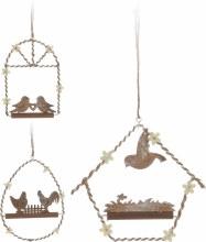 Hanging decoration (14cm/3 assorted)