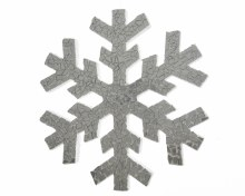 foam snowflake w mirror finish