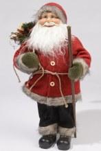 felt Santa standing with bag