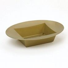 Designer Bowl Oval Gold