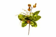 "14"" Magnolia w Pom. Pick Green"