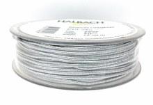 Elastic Lurex Gimp Silver (2mm x 50m)