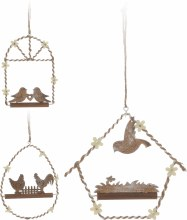 Hanging decoration (14cm/3 assorted)