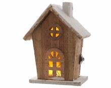 LED wooden chapel ind bo natu