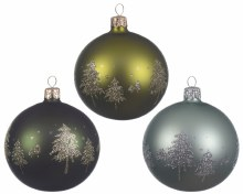 glass deco bauble w trees 3ass
