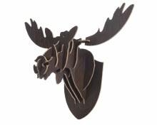 MDF moose wall trophy