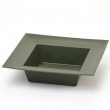 Designer Bowl Square DarkGreen