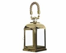 Stainless steel lantern (15.2x30.5cm)
