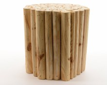 pinewood stool branches