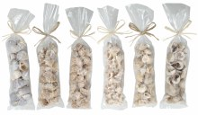 Shells In Opp Bag With Raffia