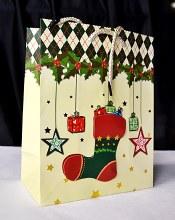Christmas Bags 32cm x 25cm Cre
