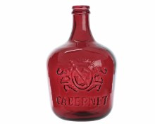 recycled gl bottle vase wine