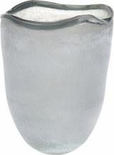 TEALIGHT HOLDER GLASS 21CM