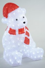 LED acrylic bear outd GB
