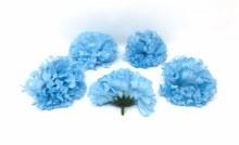 Carnation Heads 24 Dz Blue