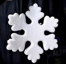 Snowflake 30x28cm