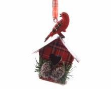 iron birdhouse check w hanger