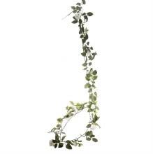 Artificial Rose Garland White (180cm)