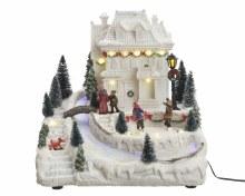 LED f-o Christmas villa ind GB