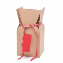 Bouquet Box Greenpack Red (13x13x26cm)