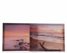 canvas with beach print 2ass