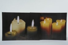 Art Frame Candle Flames