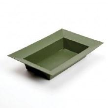 Designer Bowl Rectangle Dark Green