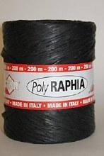 Poly raphia (15mm x 200m/Black)