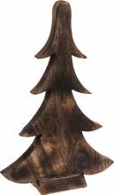CHRISTMAS TREE 28CM BROWN