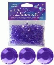 Decor Diamante 6mm Lavender