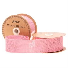 Ribbon Woven Pink (50mm)