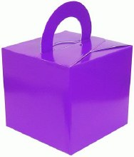 Balloon Weight Box Purple