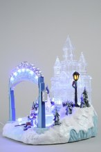 LED ice sculpture square in GB