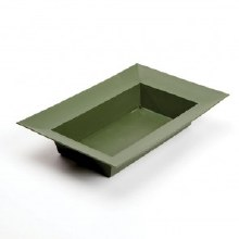 Designer Bowl Rect. Dark Green