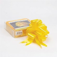 Pull Bow 50mm Yellow