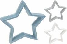 STAR STANDING 25X23CM 3ASS