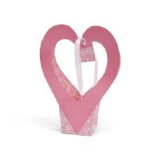 Gift bag Romance Pink (31x14x42cm)