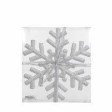 ORNAMENT SNOWFLAKE H30 WHITE