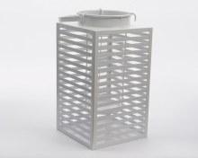 iron lantern horizontal lines
