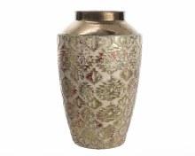 stonew vase w met structure