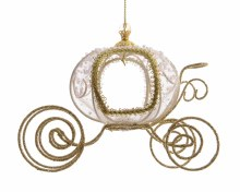 iron carriage with organza