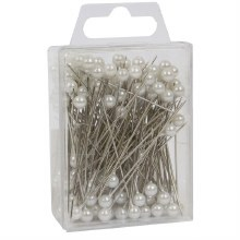 Pearl Pin 5mm White