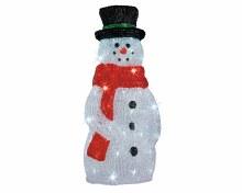LED acrylic snowman outd GB