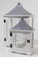 fir wood lantern