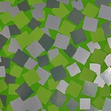 Green squares paper design (70cm x 100m/Green)