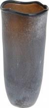 TEALIGHT HOLDER BROWN GLASS 29