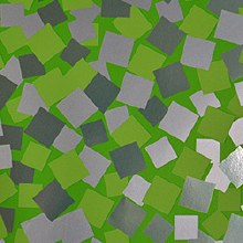 Green squares paper design (70cm x 100m/Green)