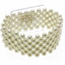 Small Pearl Bracelet  Ivory (2.5cm)